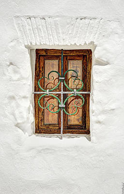 Photograph - Window In Vejer by Weston Westmoreland