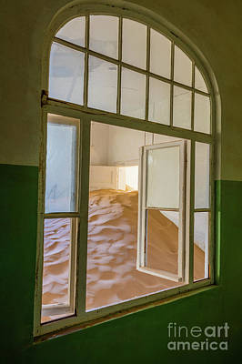 Delapidated Photograph - Window by Inge Johnsson