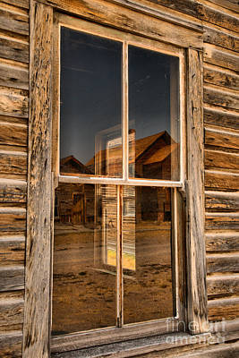 Photograph - Window Into The Montana Past by Adam Jewell