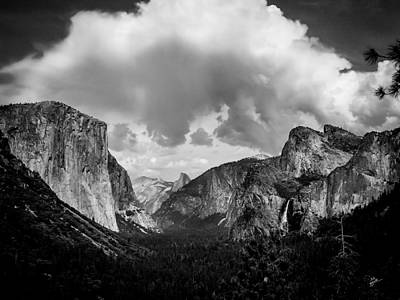 Photograph - Window Into Yosemite by TK Goforth