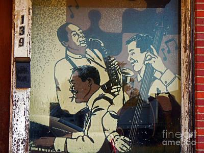 Window Jazz Print by Joy Tudor