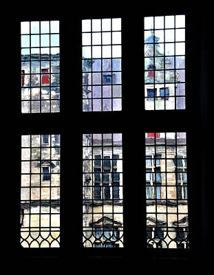 Photograph -  Window Magic - Kronborg - Elsinore by Jacqueline M Lewis