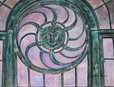 Window Memory Print by Judy Riggenbach