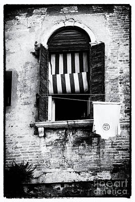 Photograph - Window Noir by Ana Mireles