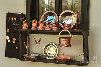 Photograph - Window Of A Gift Shop by Eva Lechner