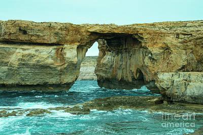 Maltese Photograph - Window Of Azure  by Rob Hawkins