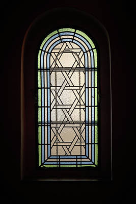 Photograph - Window Of The Synagoga. Prague Spring 2017 by Jouko Lehto