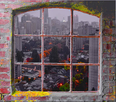 Photograph - Window Of Vancouver by Dale Stillman