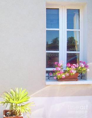 Photograph - Window On France by Janette Boyd