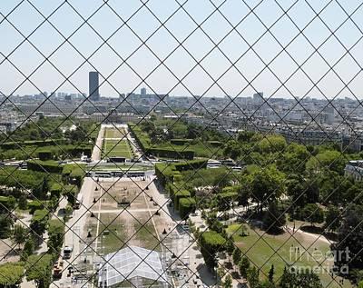 Photograph - Window On Paris by Amar Sheow
