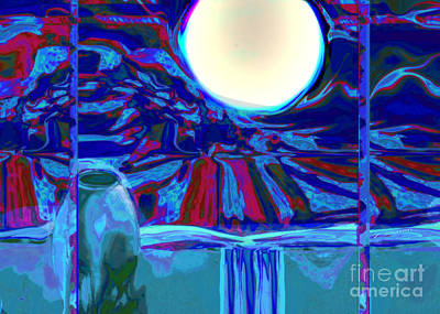 Digital Art - Window On Santa Fe No.1 by Zsanan Narrin