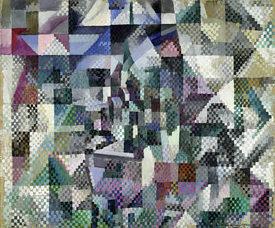 Straight Painting - Window On The City 3 by Robert Delaunay