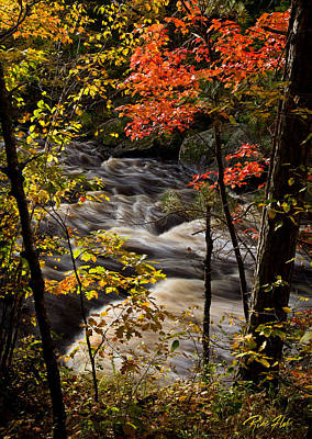 Photograph - Window On The Kettle River by Rikk Flohr