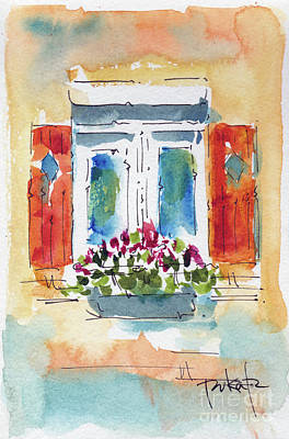 Painting - Window On The World by Pat Katz