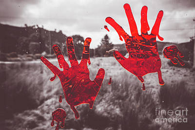 Splatter Photograph - Window Pain by Jorgo Photography - Wall Art Gallery
