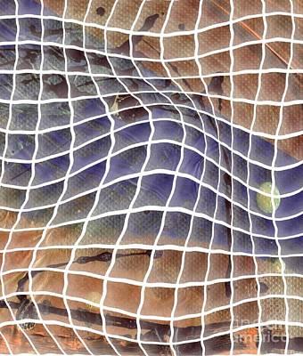 Digital Art - Window Panes by Angela L Walker
