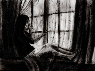 Window Print by R C