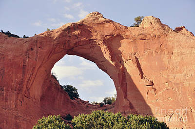 Photograph - Window Rock Arizona by Debby Pueschel