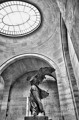 Nike Photograph - Window Samothrace  by Chuck Kuhn