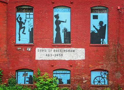 Photograph - Window Scenes by Tom Singleton
