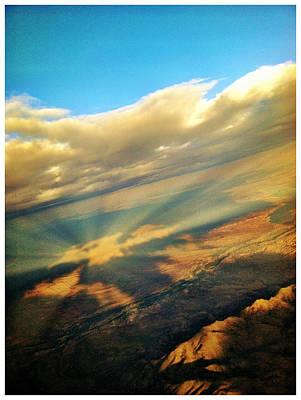 The Window Up Above Photograph - Window Seat 7 by Braden Moran