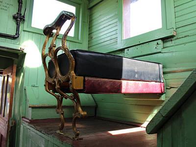 Colorado Railroad Museum Photograph - Window Seat by Lorraine Baum