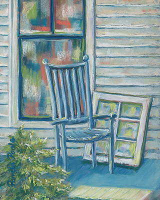 Painting - Window Seat by Pamela Poole