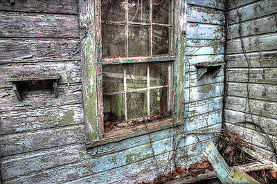 Photograph - Window Shelves by Mike Eingle