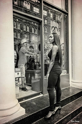 Photograph - Window Shopping by Fran Gallogly