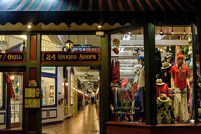 Photograph - Window Shopping by Robert Potts