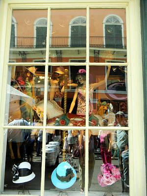 The Millinery Shop Photograph - Window Shopping by Rosanne Licciardi