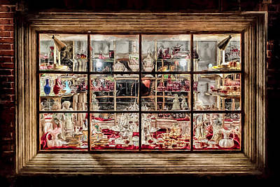 Photograph - Window Shopping by Susan Rissi Tregoning