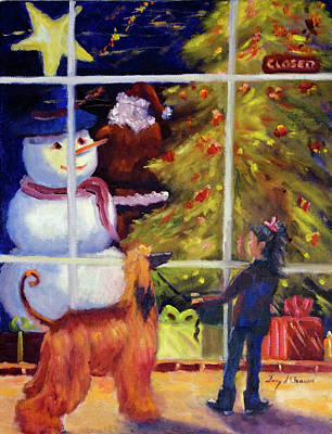 Painting - Window Shopping by Terry Chacon
