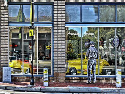 Photograph - Window Shopping by Tom Griffithe