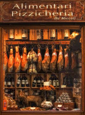 Photograph - Window Shopping Tuscany by Bob Coates
