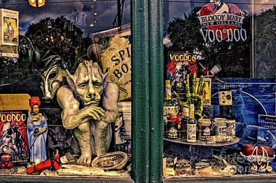 Bloody Mary Wall Art - Photograph - Window Shopping Voodoo by Kathleen K Parker