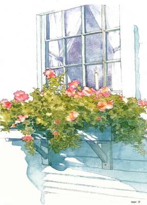 Window Sill Art Print by Sloane FinneganAllen