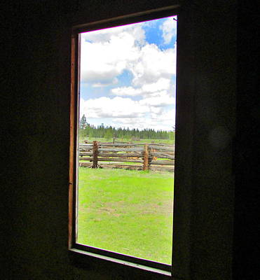 Photograph - Window Sites by Marilyn Diaz