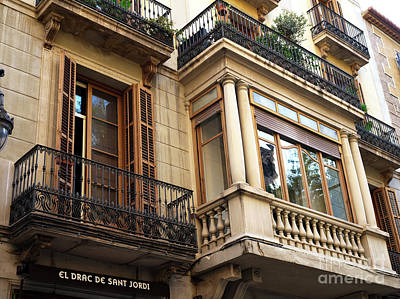 Photograph - Window Sizes In Barcelona by John Rizzuto