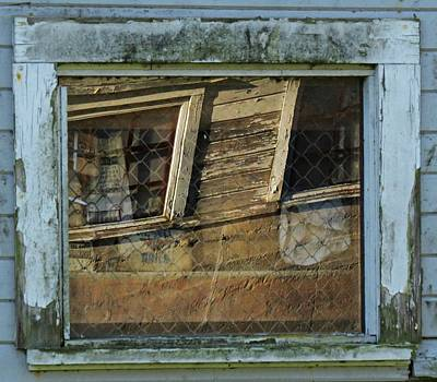 Digital Art - Window Story by I'ina Van Lawick