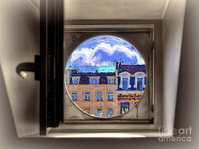 Photograph - Window To A Different World by Leigh Kemp