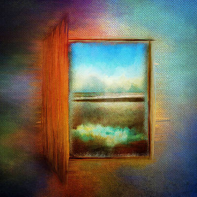 Window To Anywhere Art Print