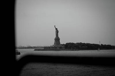 Photograph - Window To Liberty by David Sutton