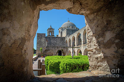 Photograph - Window To Mission San Jose by Inge Johnsson