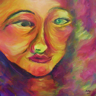 Painting - Window To My Soul by Shelley Bain
