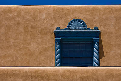 Photograph - Window To Sante Fe by Ches Black