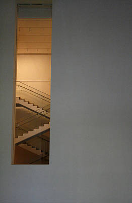 Window To Stairs Art Print by Jeff Porter