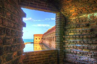 Window To The Fort Art Print by Jason Barr
