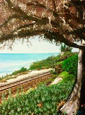 Painting - Window To The Pacific by Ray Khalife