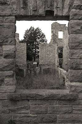 Photograph - Window To The Past by Corey Haynes